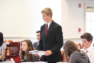 Patrick Henry College (PHC) Teen Leadership debate camp