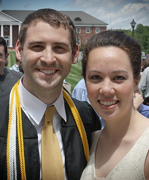 Patrick Henry College (PHC) graduates Tyler and Tia Stockton