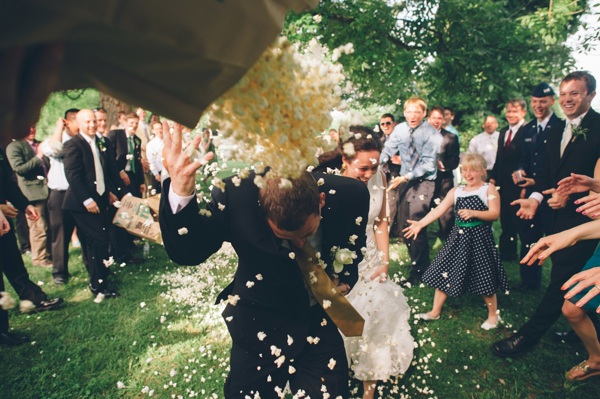 Tyler and Tia Stockton wedding