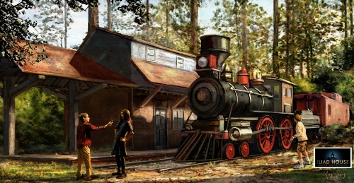 Iliad House train