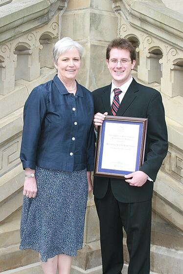 Patrick Henry College (PHC) alum Kendell Asbenson honored with the 2011 Frank M. Fitzgerald Public Service Award