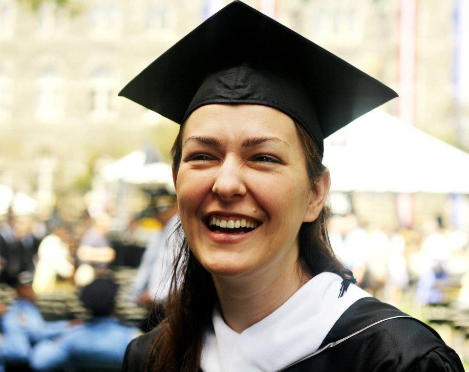 Rebekah Moughon, graduate of Georgetown University's School of Foreign Service