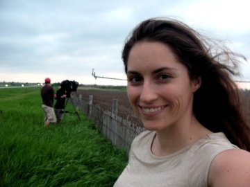 Abigail Rodriguez chasing tornadoes