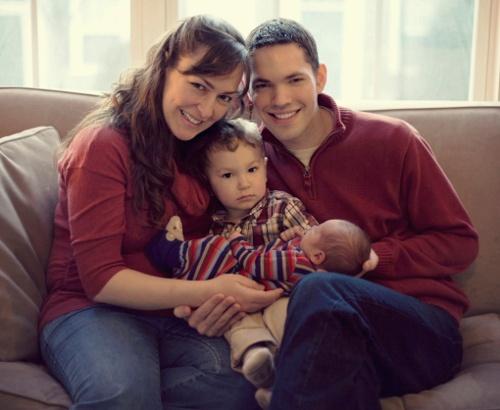 Rebekah Moughon and family
