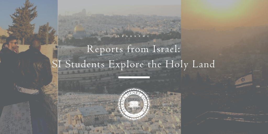SI Students Travel to Israel