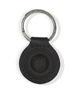 Leather Key Fob Black