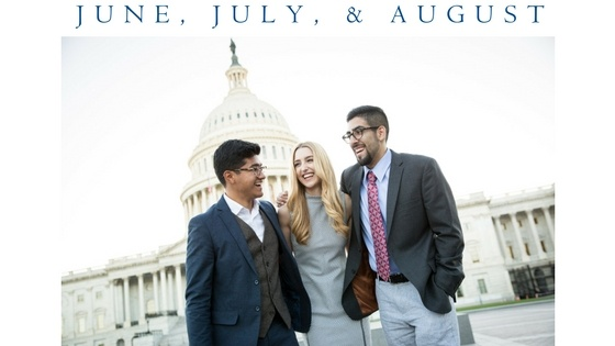 Patrick Henry College students in Washington, D.C.