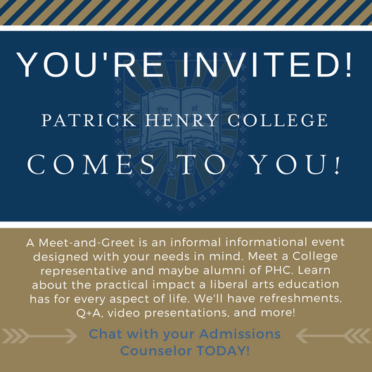 Patrick Henry College meet-and-greet