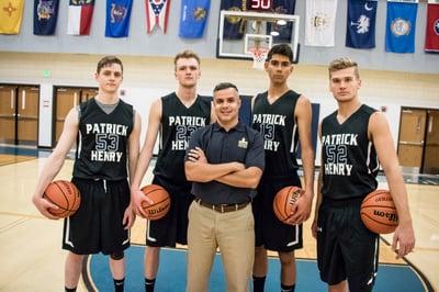 Mens Basketball Team 2017-6
