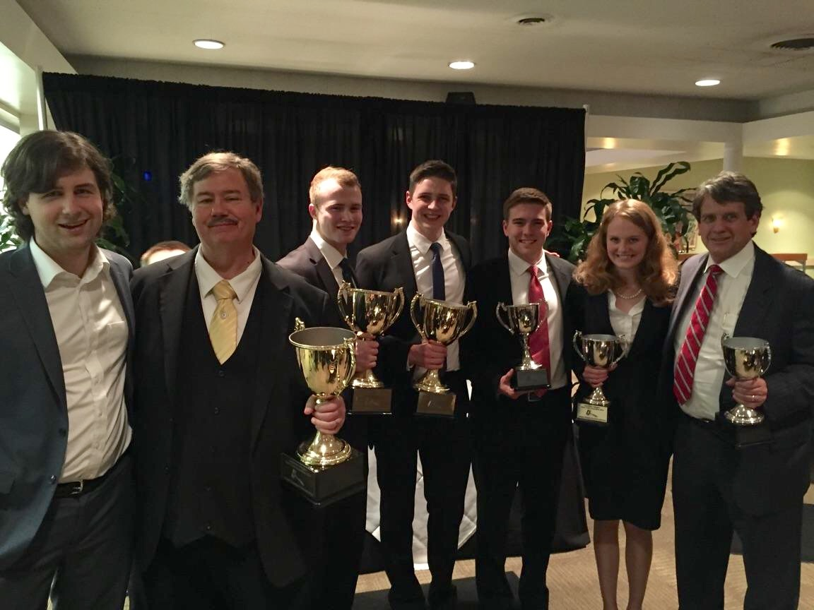 Patrick Henry College Moot Court National Championship winners 2016