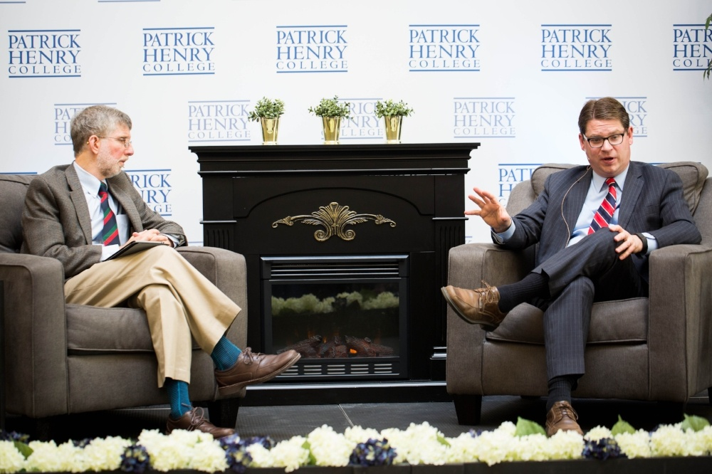Dr. Marvin Olasky Newsmakers Interviews at Patrick Henry College (PHC)