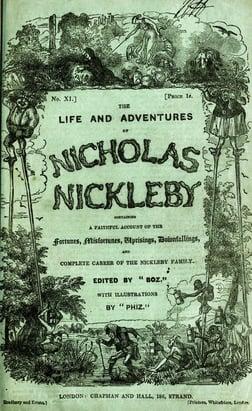 Nicholas Nickleby Charles Dickens
