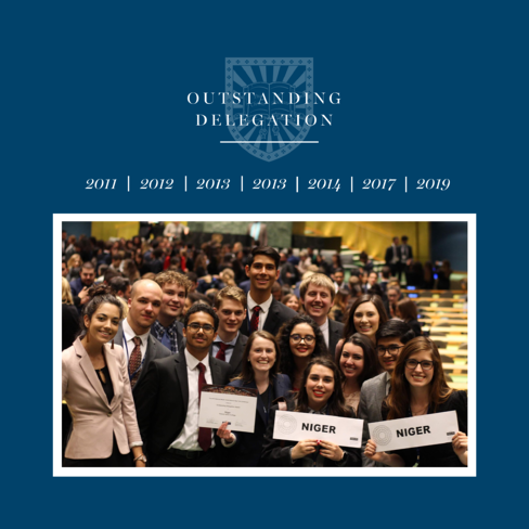 Outstanding Delegation