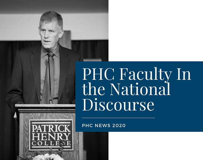 PHC Faculty Join National Discourse (1)