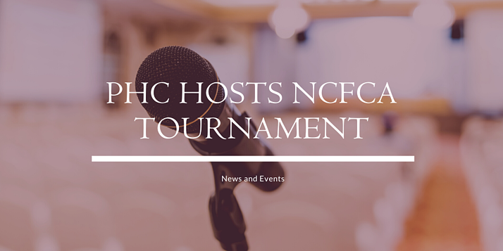 PHC Hosts NCFCA