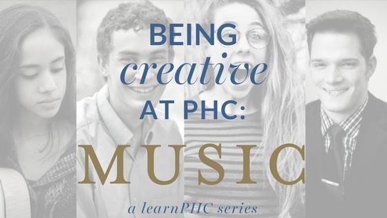 Patrick Henry College student creativity music