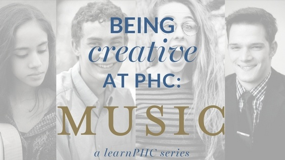 Patrick Henry College student creativity music