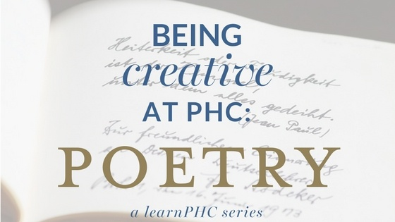 Poetry at PHC