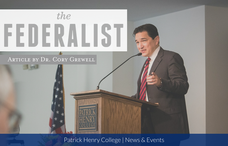 Patrick Henry College Professor Dr. Cory Grewell