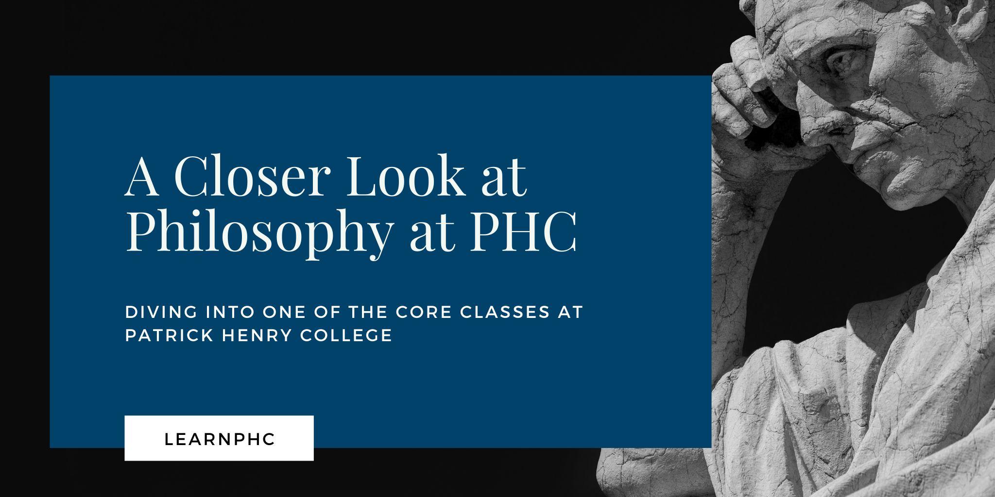 Philosophy at Patrick Henry College