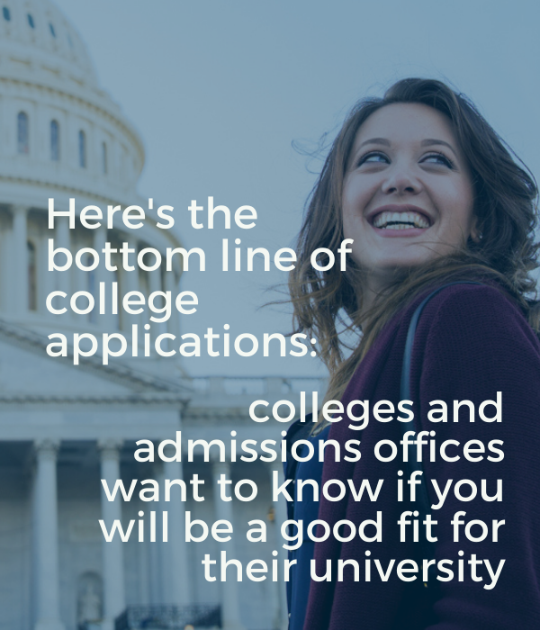 Quote for College applications