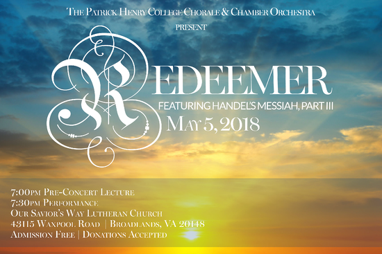 Redeemer by Patrick Henry College