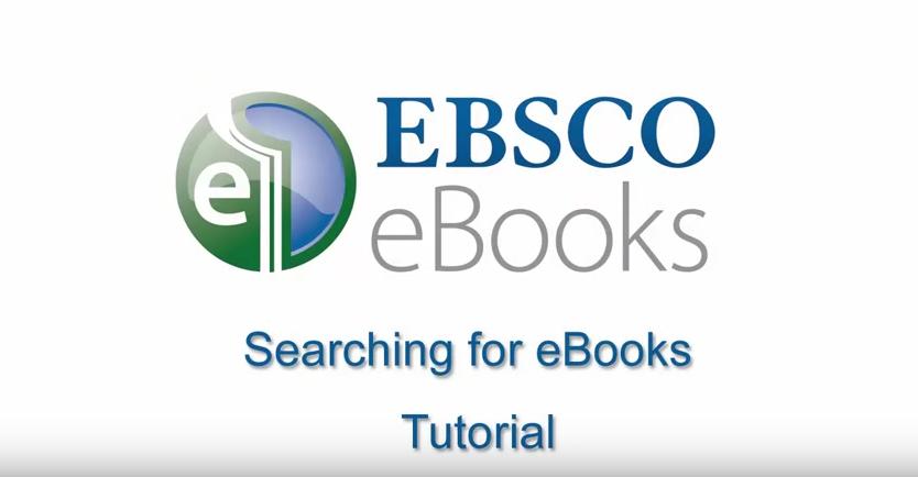 EBSCO eBooks - Searching