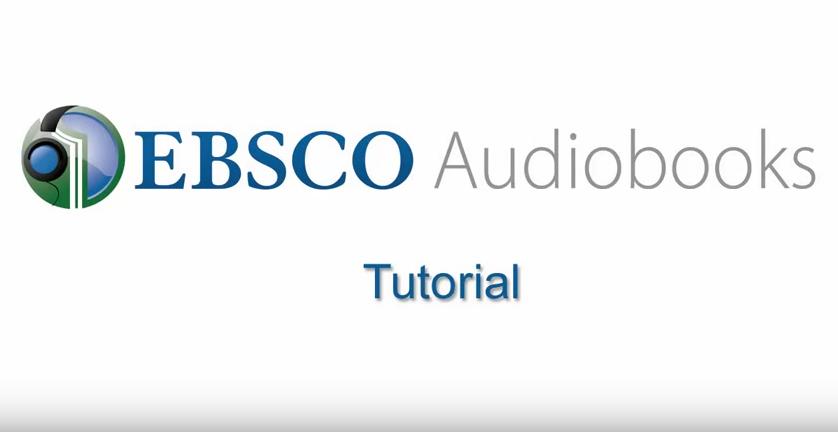 EBSCO Audiobooks