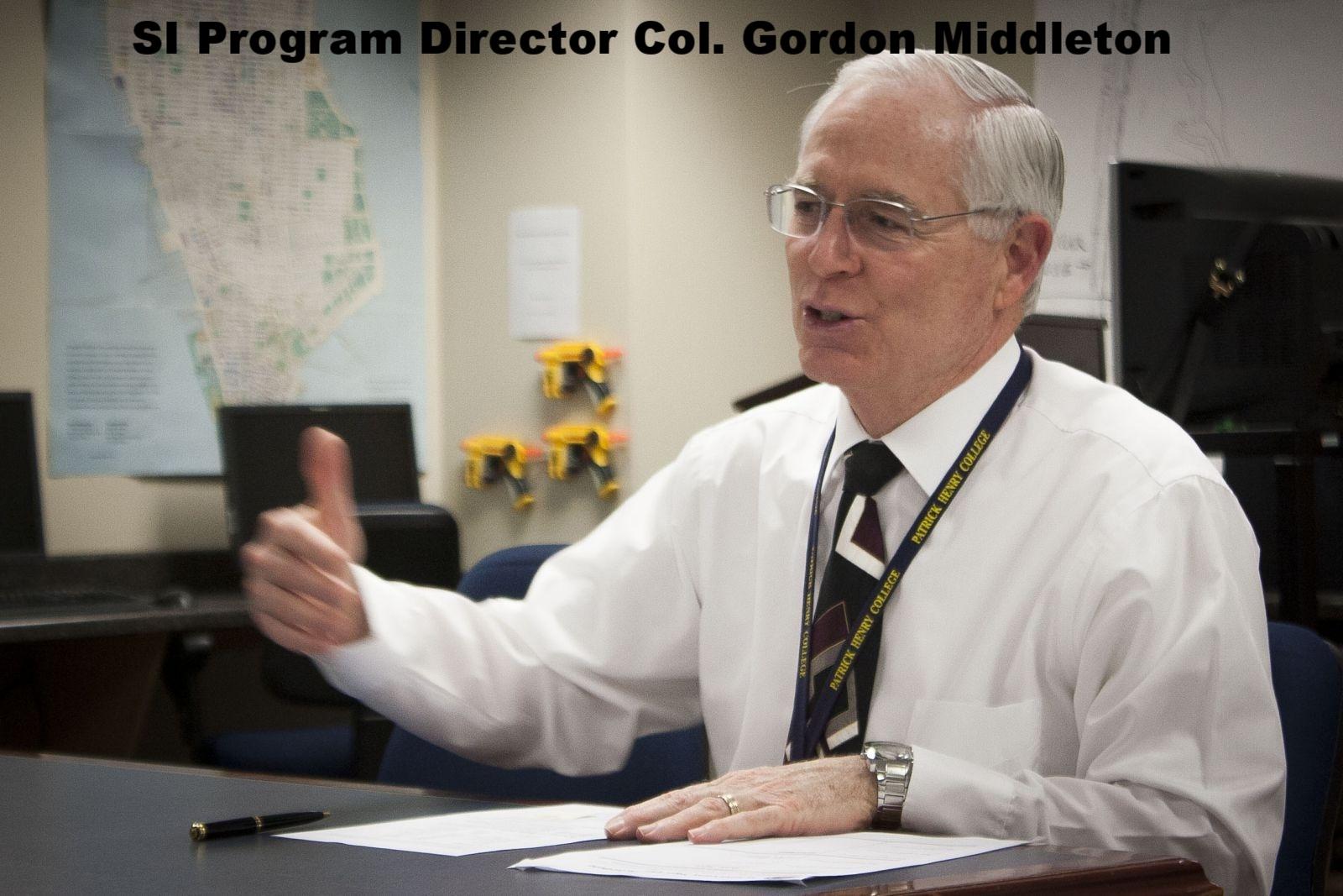 Col. Gordon Middleton