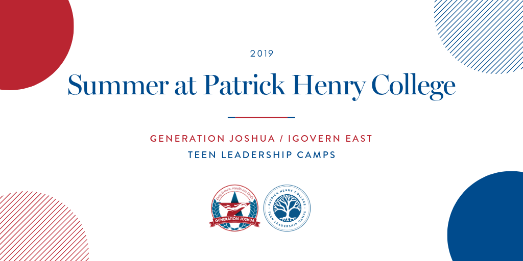 Summer at Patrick Henry College