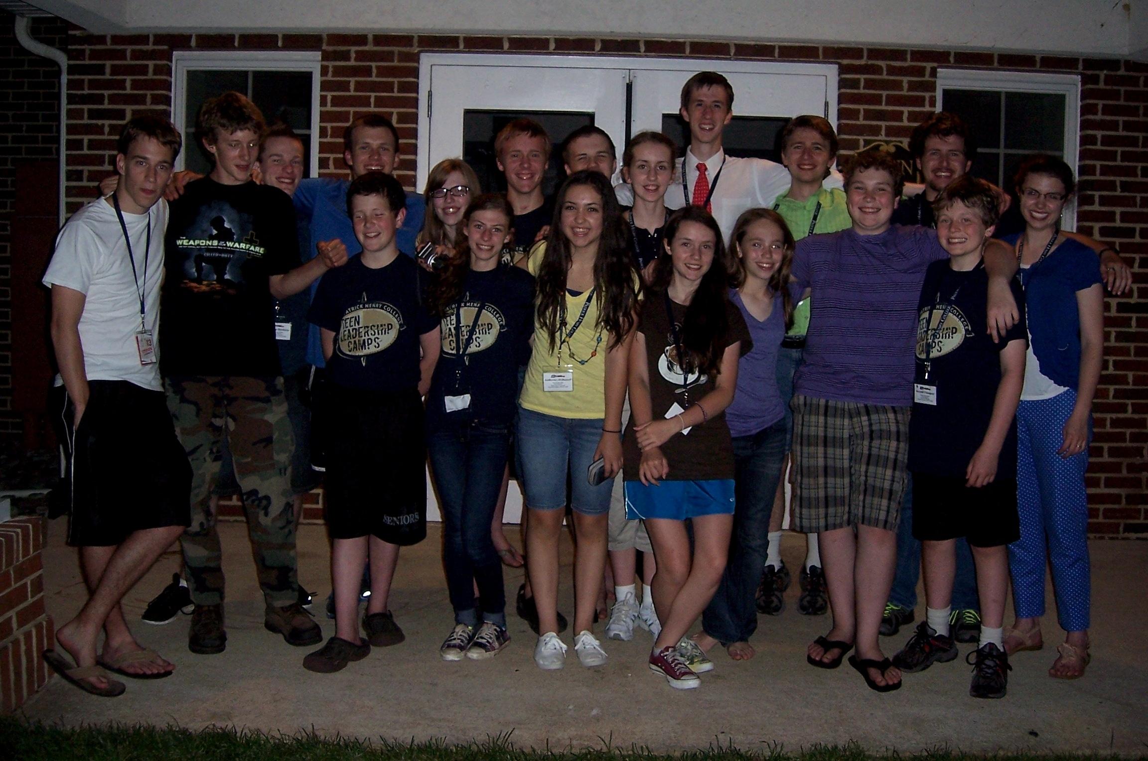 Patrick Henry College (PHC) Strategic Intelligence (SI) Teen Camp 2013