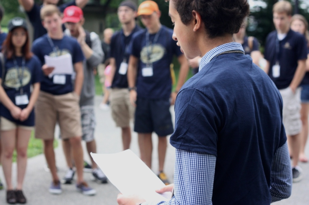 Patrick Henry College speech teen leadership camp