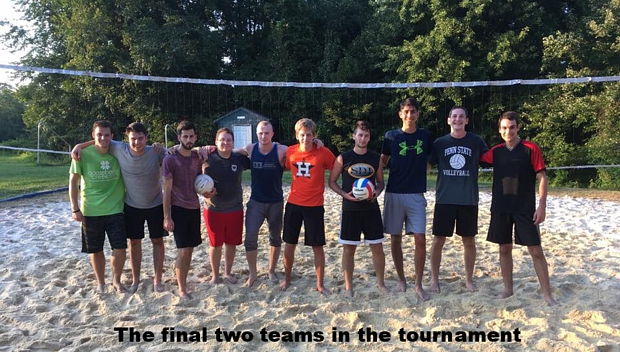 PHC intramural volleyball tournament
