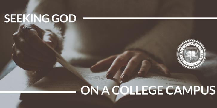 Seeking God On Campus