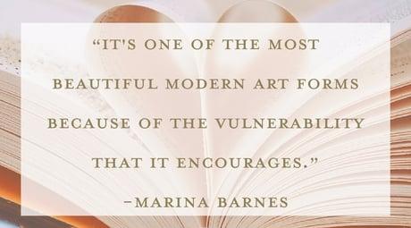 Marina Barnes quote