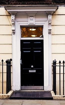Knocking on doors for the gospel