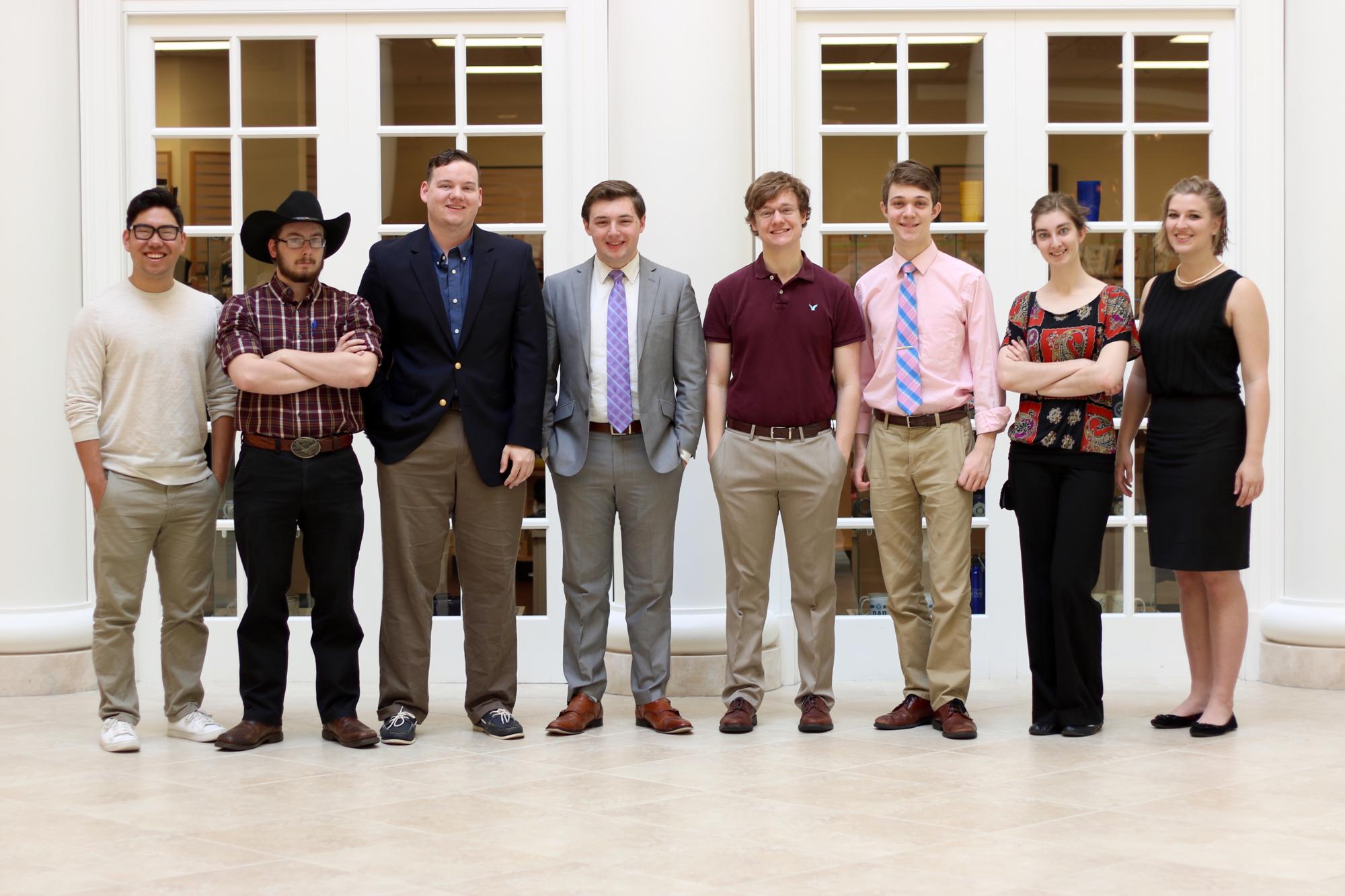 Daniel Thetford, Matt Hoke, and the members of their campaign team