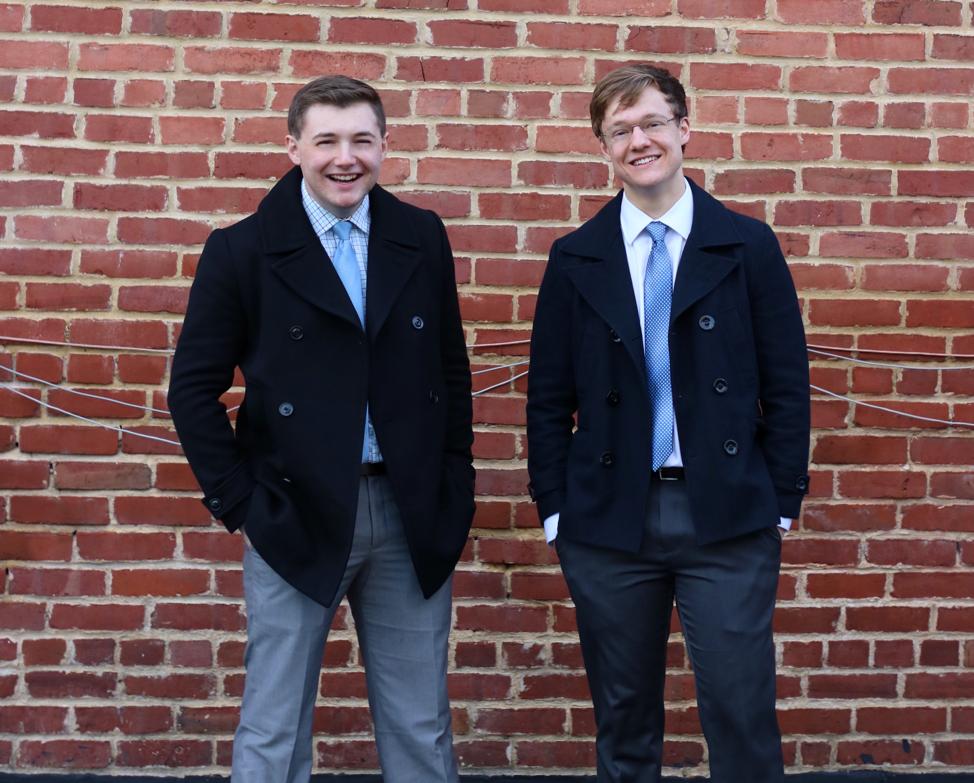 Daniel Thetford and Matthew Hoke