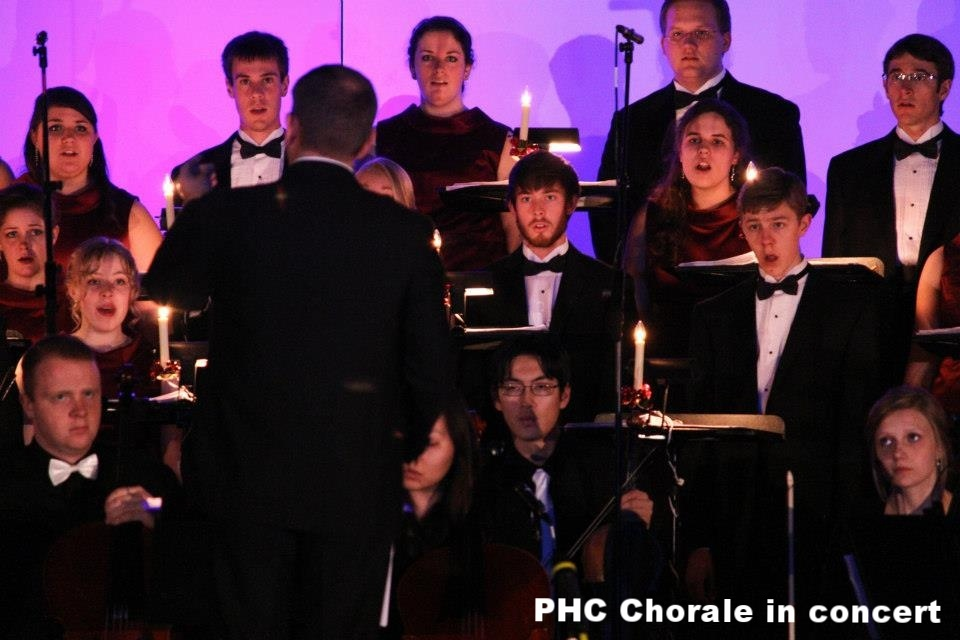 Patrick Henry College Chorale and Orchestra perform