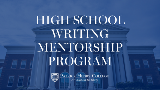 high schoolwriting mentorship program