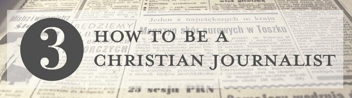 Christian journalist