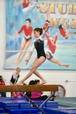 justine van ness gymnastics