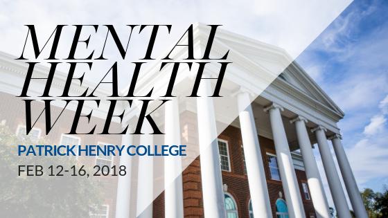 Patrick Henry College  mental health week