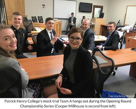 Patrick Henry College mock trial