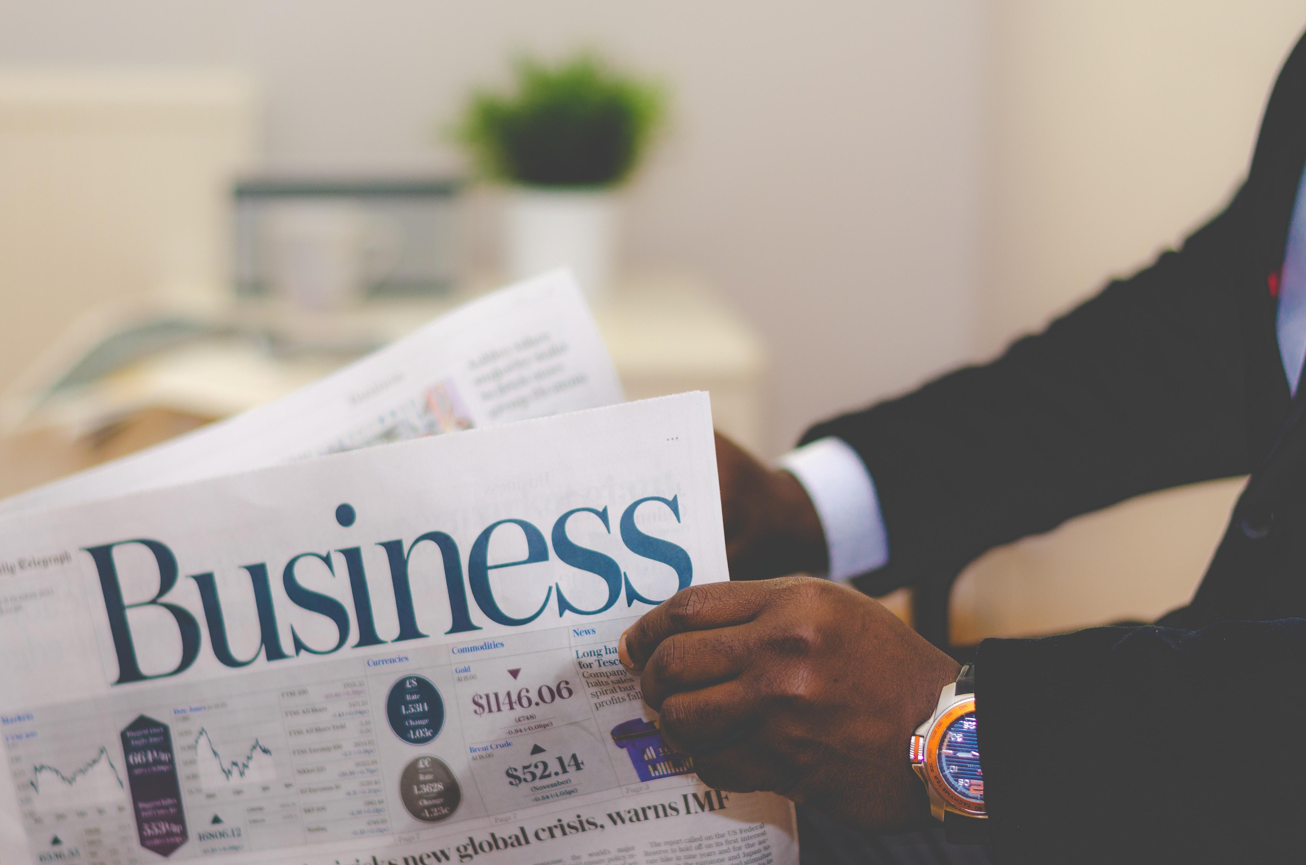 Business-newspaper