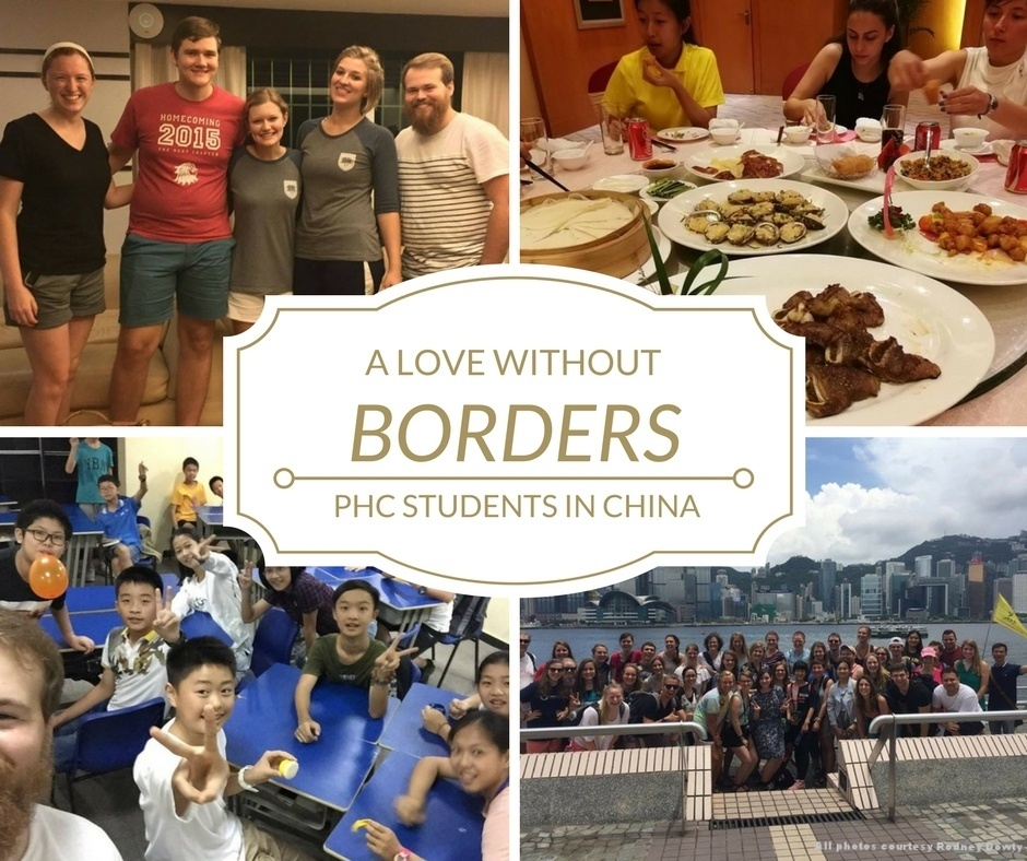 PHC students in China