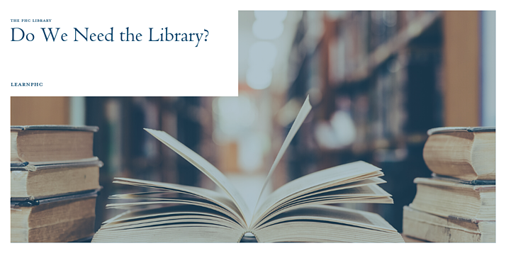Do we still need the library?