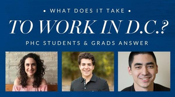 D.C. internships