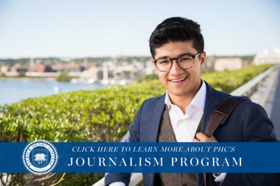 Discover PHC's journalism program!