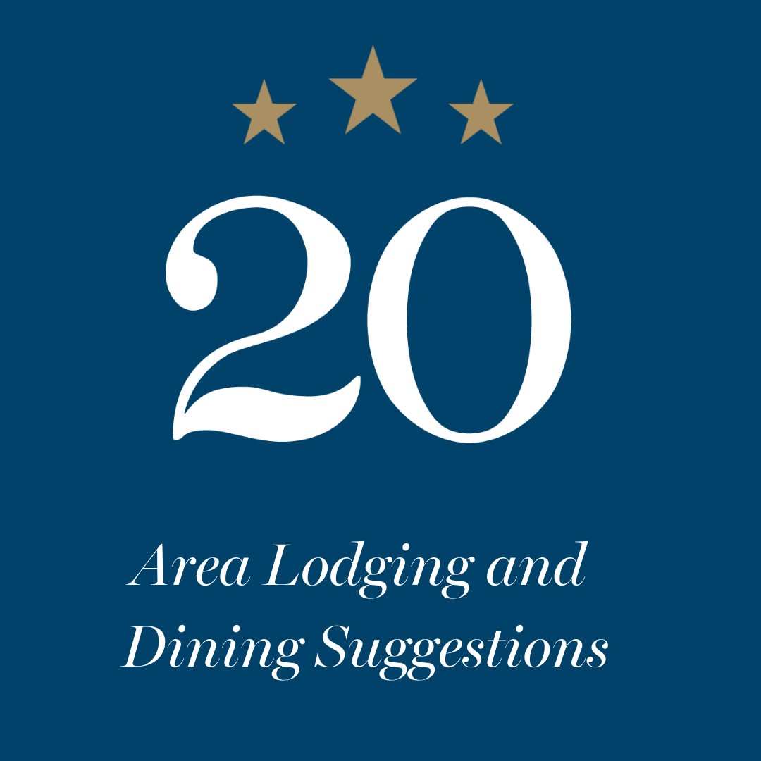 Area Lodging and Dining